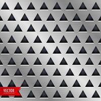 diseño de fondo de metal triángulo