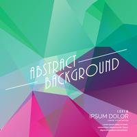 colorful abstract polygonal triangle background