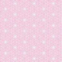 rosa Blumenlinie Musterhintergrund