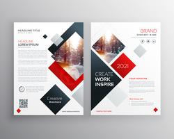 creative business brochure template design in size A4