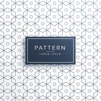 hexagonal geometric line pattern background