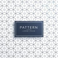 línea geométrica hexagonal patrón de fondo
