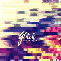 Glitch-Effekt-Vektor-Hintergrund