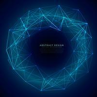 blue digital futuristic technology mesh background