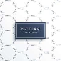 minimal pil mönster vektor bakgrund