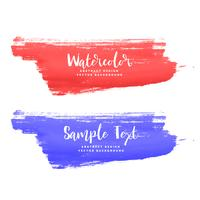 red and purple paint stroke background
