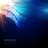 futuristic technology background made with glowing particles wit