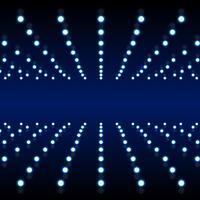 Fondo de efecto de luz de neón azul
