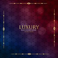 schöne Luxus-Vintage-Hintergrund-Design