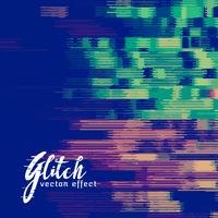 glitch signaal fout vector achtergrond