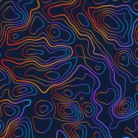 topographic colorful contour illustration background