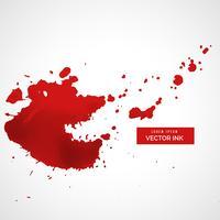 red splatter stain background