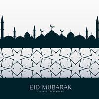eid festival salutation design fond