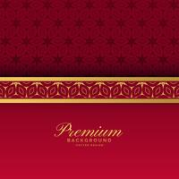 ethnic red and gold luxury royal background