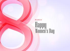 beautiful woman's day theme design background