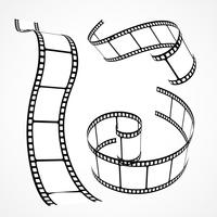 3D-vector film strip collectie