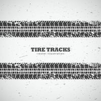 vector tire tracks background design