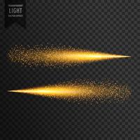 glitter light trail sparkles light effect