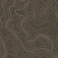 topografischer Höhenlinienhintergrund der Kontur