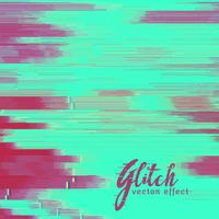 vector glitch background with duotone shade