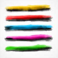 watercolor brushes set of five