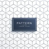 motif de lignes géométriques minimales en forme hexagonale