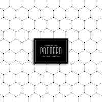 minimal hexagonal shape dots pattern background