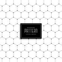 minimal hexagonal shape dots pattern background