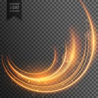 neon light streak transparent effect vector background