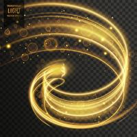 abstract golden transparent light effect background