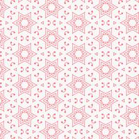 design de plano de fundo padrão estrela rosa