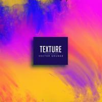 kleurrijke aquarel textuur achtergrondontwerp