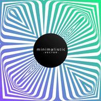 Fondo minimalista colorido con arte lineal.