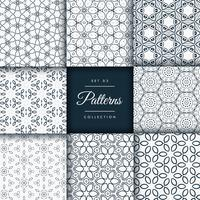 floral and flower style patterns collection pack