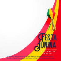 festa junina holiday background
