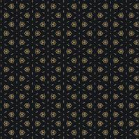 cute black and gold pattern design