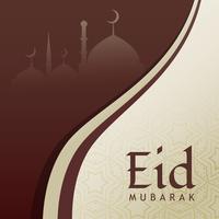eid festival greeting design background