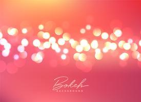 beautiful bokeh lights festive background