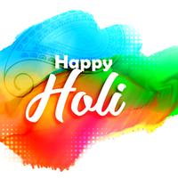 abstract colorful holi festival background