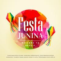 Fondo de vacaciones latinoamericana de fiesta junina