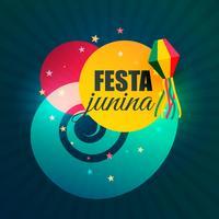 juin brésilien partie festival de festa junina