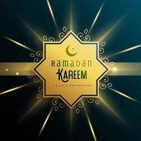 sfondo islamico per la stagione di Ramadan Kareem