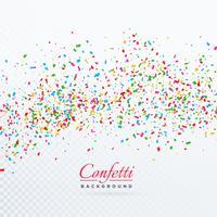 confettis éclater fond modèle