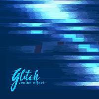 digital glitch vector effect background