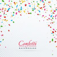abstract vector confetti background design