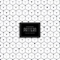 Fondo de patrón de estilo de cubo geométrico de repetición moderna