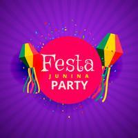 Fondo fiesta festival fiesta junina junio