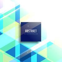 design de fundo abstrato azul brilhante