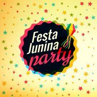 festa junina partij festival achtergrond