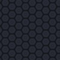 fond sombre avec des motifs hexagonaux